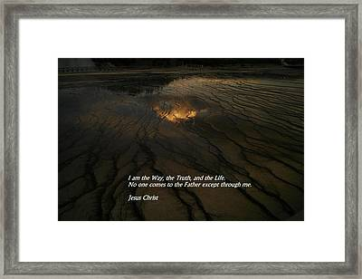 I Am The Way Framed Print by Jeff Swan