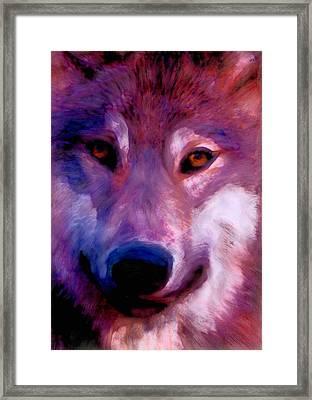 I Am Wolf Clan Framed Print