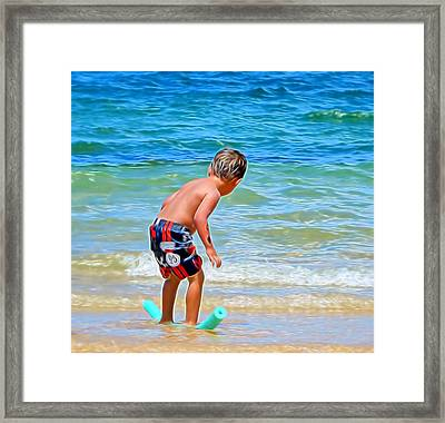 I Can Do This Framed Print by Pamela Walton