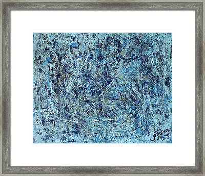 I Love Pollock Framed Print