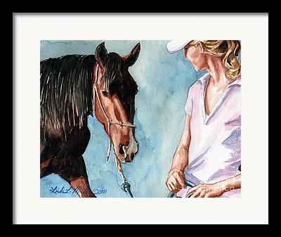 Mustang Heritage Foundation Framed Prints