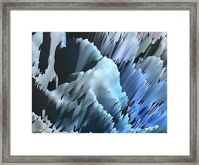 Ice Framed Print by Sharon Lisa Clarke