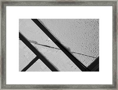 Framed Print featuring the photograph Ice Storm by Wanda Brandon