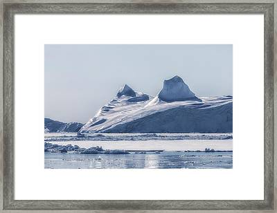 Icefjord - Greenland Framed Print