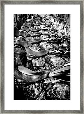I'll Have A Dozen Harley's To Go Please Framed Print