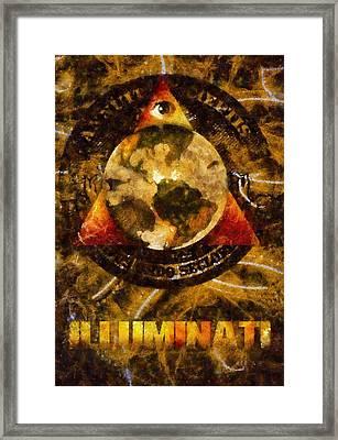 Illuminati Framed Print by Esoterica Art Agency