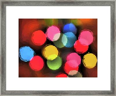 Illumination Framed Print by Tom Druin