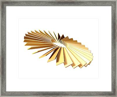 Illusion Of Progress Framed Print