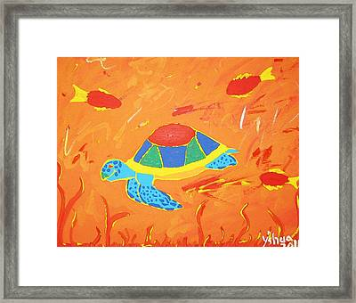 Imagine Framed Print by Yshua The Painter