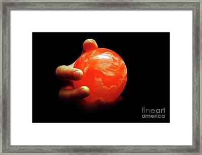 1 In Her Hand Framed Print