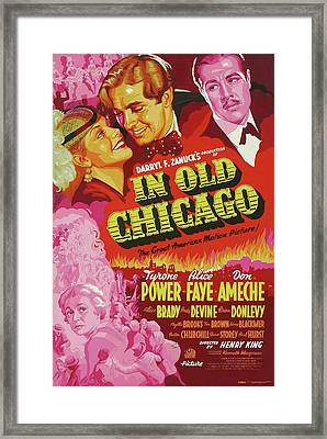 In Old Chicago 1937 Framed Print by Mountain Dreams