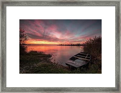 In Safe Harbor Framed Print by Davorin Mance