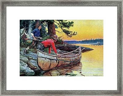 In Silent Places Framed Print
