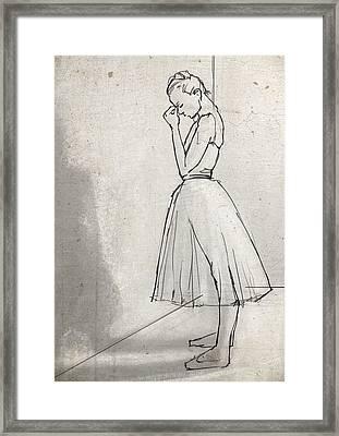 In The Corner Framed Print
