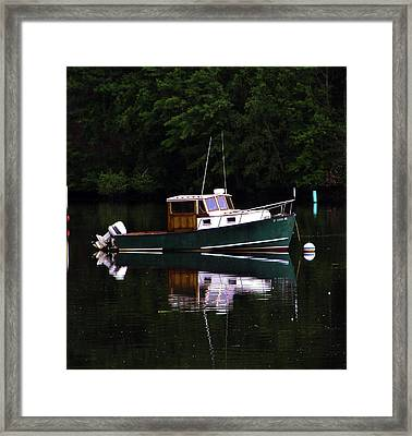 In The Cove Framed Print