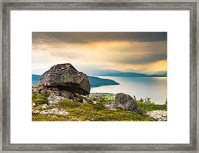 Framed Print featuring the photograph In The North by Maciej Markiewicz