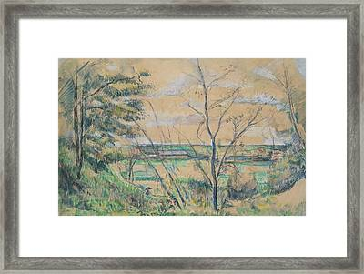 In The Oise Valley Framed Print
