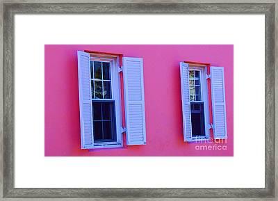In The Pink Framed Print by Debbi Granruth