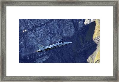 In The Swiss Alps Framed Print by Angel  Tarantella