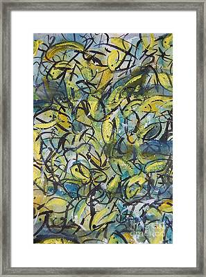 In The Undertow Framed Print