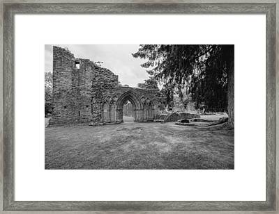 Inchmahome Priory Framed Print