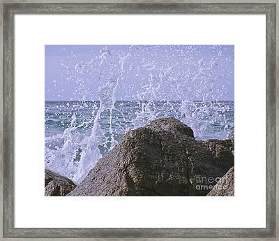 Incoming Tide Framed Print by Terri Waters