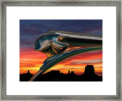 Indian Rainbow Framed Print