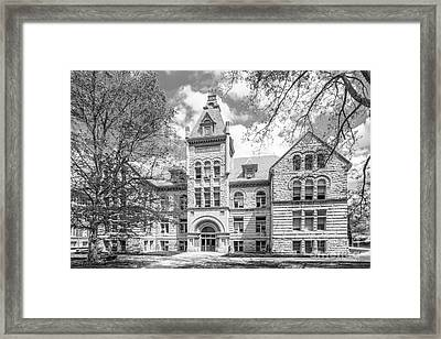 Indiana University Kirkwood Hall  Framed Print