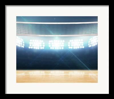 Netting Digital Art Framed Prints