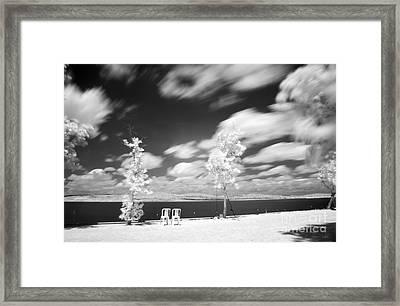 Infrared Landscape Framed Print