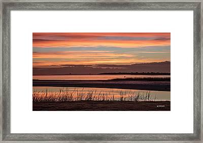 Inlet Watch Sunrise Framed Print