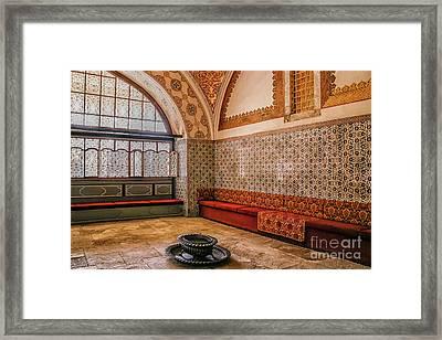 Inside Harem Of Topkapi Framed Print