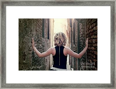 Inside My Walls Framed Print