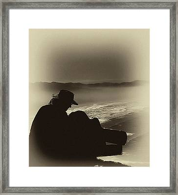 Inspired By The Mist Framed Print by David Patterson