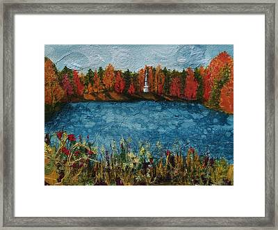 Institute Park Worcester Ma Framed Print