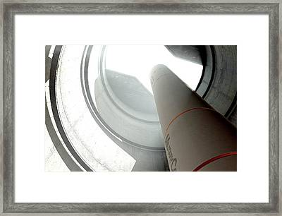 Intercontinental Ballistic Missile Silo Framed Print by Allan Swart