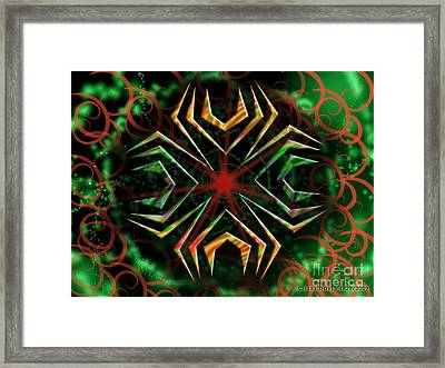 Into Space Framed Print