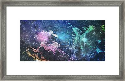 Into The Great Wide Open Framed Print by Kimberly  W
