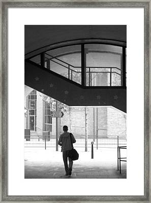 Into The Unknown Framed Print by Jez C Self