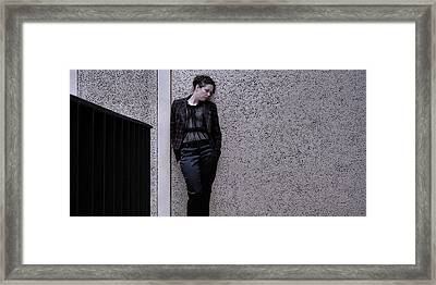 Iona Lynn 2-4 Framed Print by David Miller