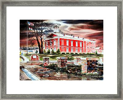 Iron County Courthouse II Framed Print by Kip DeVore