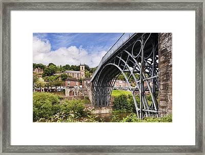 Ironbridge Framed Print by Colin and Linda McKie