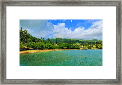 Island Of Maui Framed Print by Michael Rucker