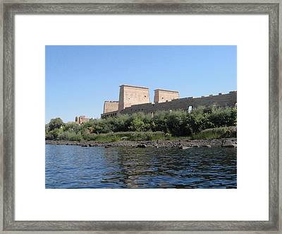 Island Of Philae Framed Print