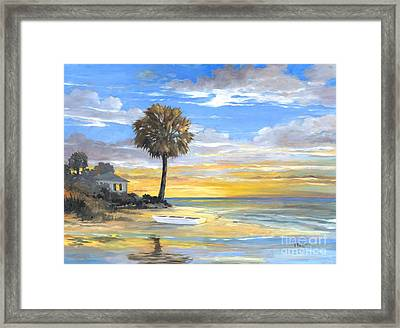 Islands Twilight Framed Print by Paul Brent
