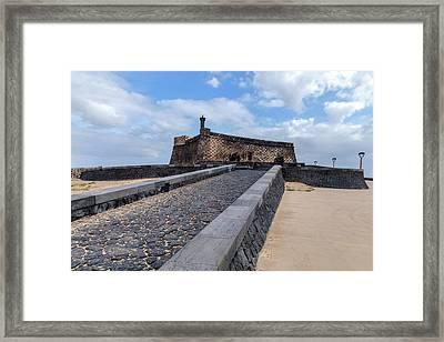 Islote De Los Ingleses - Lanzarote Framed Print