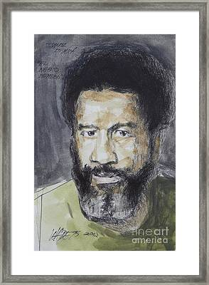 Ismael Rivera Framed Print by Wade Hampton