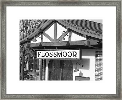 It Means Flower Of The Heather Framed Print