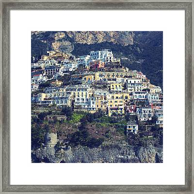 Italian Houses Framed Print by Joana Kruse