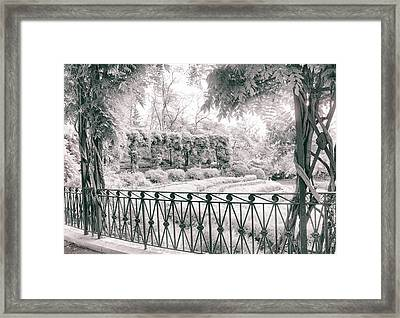 Italianate Pergola Framed Print by Jessica Jenney